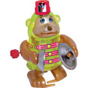 Monkey with Cymbals Windup Toy