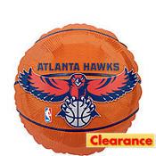 Atlanta Hawks Balloon 18in