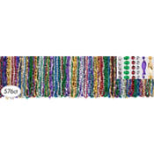 Mardi Gras Bead Necklaces 33in 576ct<span class=messagesale><br><b>9¢ per piece!</b></br></span>