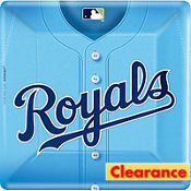 Kansas City Royals Dinner Plates 18ct