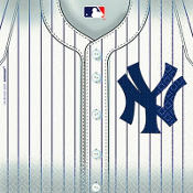New York Yankees Lunch Napkins 36ct