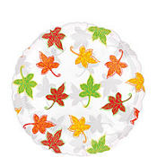Foil Maple Leaf Balloon 18in