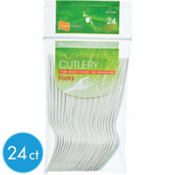Eco Friendly Forks 24ct