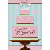 Blushing Bride Bridal Shower Invitations 20ct