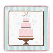 Blushing Bride Dessert Plates 18ct