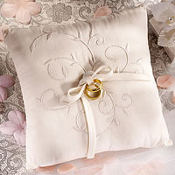 Eco Bamboo Fabric Ring Bearer Pillow