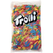Trolli Sour Brite Crawlers Gummi Worms 300pc