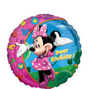 Happy Birthday Minnie Mouse Balloon