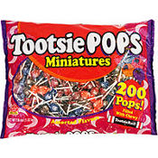 Mini Tootise Pop 200ct Bag