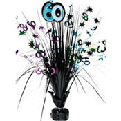 The Party Continues 60th Birthday Spray Centerpiece