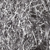 Silver Metallic Tinsel Grass 2oz