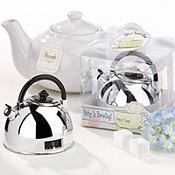 It's About Time - Baby is Brewing Teapot Timer Baby Shower Favor