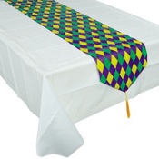 Mardi Gras Table Runner 11in x 6ft