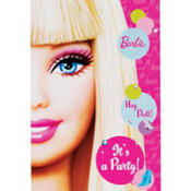 Barbie Invitations 8ct