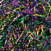 Mardi Gras Metallic Tinsel Grass 1.5oz