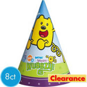 Wow! Wow! Wubbzy! Party Hats 8ct