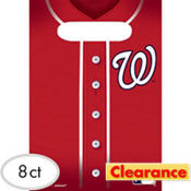 Washington Nationals Favor Bags 8ct