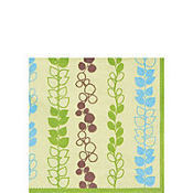Green Julie Beverage Napkins 20ct