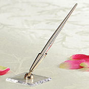 Gold Wedding Guest Book Pen