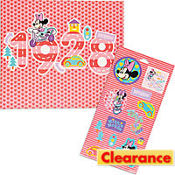Minnie Mouse Sticker Sheet and Mini Poster