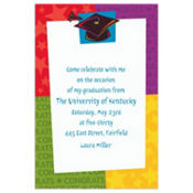 Way to Go Grad Custom Invitation