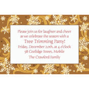 Elegant Gold Custom Invitation