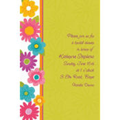 Spring Fling Custom Invitation