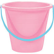 Pink Large Pail 9in