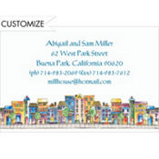 Apartment Houses Custom Invitation
