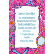 Makeover Party Custom Invitation