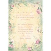 Antique Foliage Custom Invitation
