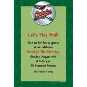 Baltimore Orioles Custom Invitation