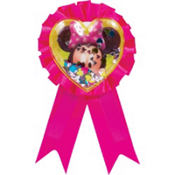 Minnie Mouse Award Ribbon 5in
