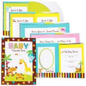 Fisher Price Baby Shower Keepsake Book