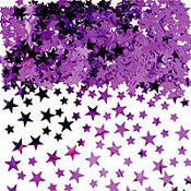 Purple Star Confetti 5oz