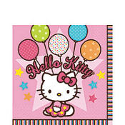 Hello Kitty Balloon Dreams Lunch Napkins 16ct