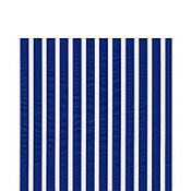 Stripes Again Blue White Lunch Napkins 20ct