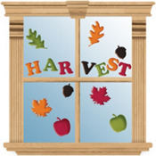 Fall Harvest Gel Clings 15ct