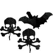Shocktails Mini Halloween Centerpieces 5in 3ct