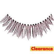 Black Thin False Eyelashes