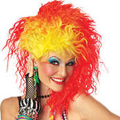 True Colors Rock Star Wig