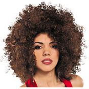Brown Runway Afro Wig