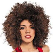 Brown Runway Afro Wig