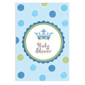 Little Prince Baby Shower Invitations 8ct