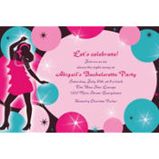 Girl's Night Out Custom Invitation