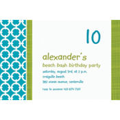 Fresh Hues Caribbean Custom Invitation