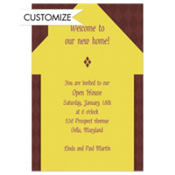 Sweet Home Custom Invitation
