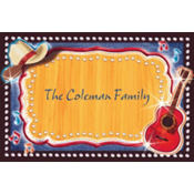 Country Western Custom Thank You Note