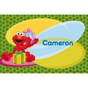 Elmo Birthday Custom Thank You Note