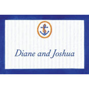 Anchor & Stripes Custom Thank You Note